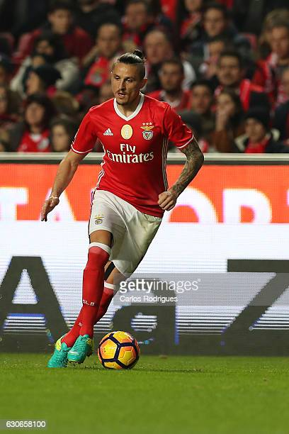 Benfica's midfielder Ljubomir Fejsa from Serbia during the SL Benfica v FC Pacos de Ferreira Portuguese Cup at Estadio da Luz on December 29 2016 in...
