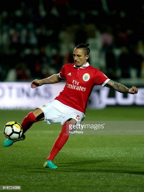 Benfica's midfielder Ljubomir Fejsa in action during the Portuguese League football match between Portimonense SC and SL Benfica at Portimao Stadium...