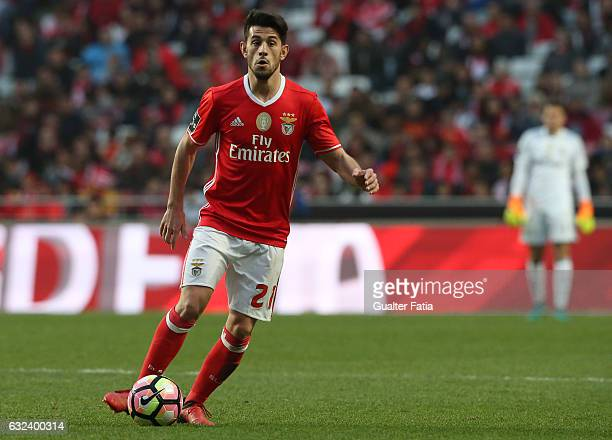 Benfica's midfielder Pizzi in action during the Primeira Liga match between SL Benfica and CD Tondela at Estadio da Luz on January 22 2017 in Lisbon...