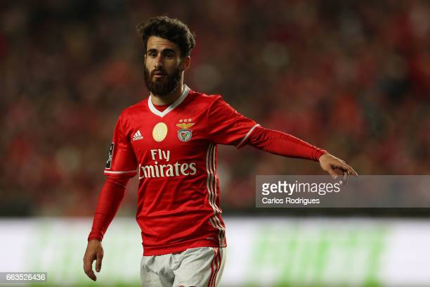 Benfica's midfielder Rafa Silva from Portugal during the match between SL Benfica and FC Porto for the Portuguese Primeira Liga at Estadio da Luz on...