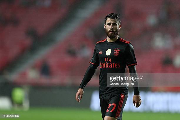 Benfica's midfielder Rafa Silva from Portugal during the SL Benfica v CS Maritimo Portuguese Cup round 4 match at Estadio da Luz on November 19 2016...