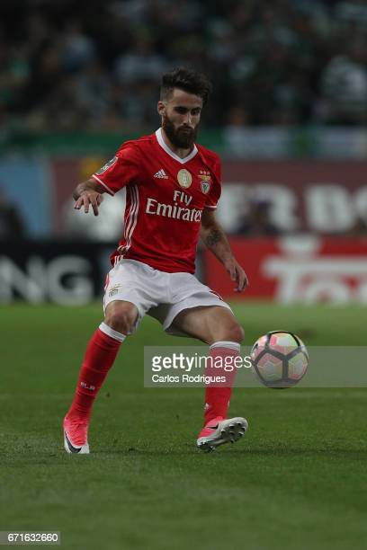 Benfica's midfielder Rafa Silva from Portugal during the Sporting CP v SL Benfica Portuguese Primeira Liga match at Estadio Jose Alvalade on April 22...