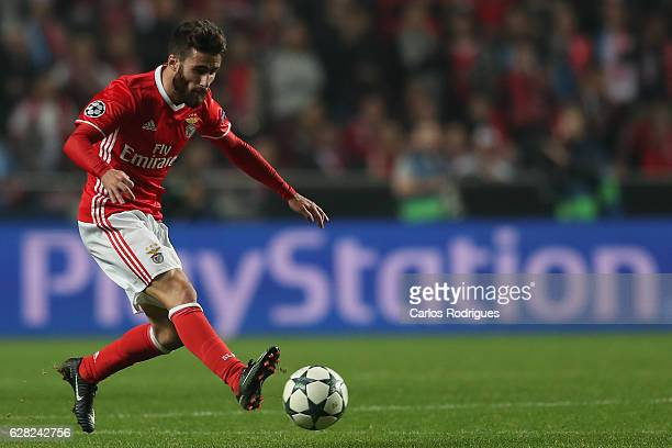 Benfica's midfielder Rafa Silva from Portugal during the UEFA Champions League group B match between SL Benfica v SSC Napoli at Estadio da Luz on...