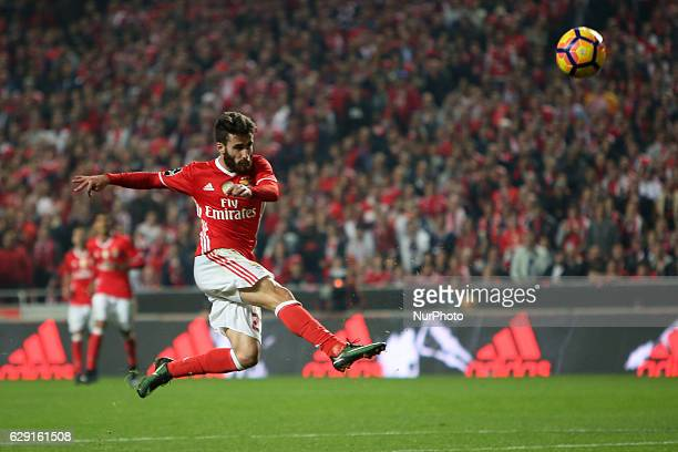 Benfica's midfielder Rafa Silva in action during the Portuguese League football match SL Benfica vs Sporting CP at the Luz stadium in Lisbon Portugal...