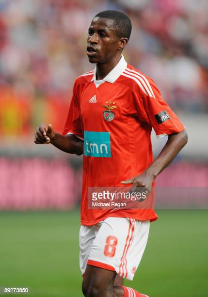 Benfica's Ramires during the Amsterdam Tournament match between Sunderland and Benfica at the Amsterdam Arena on July 24 2009 in Amsterdam Netherlands