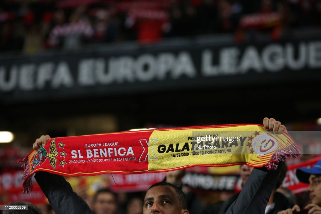 PRT: UEFA Europa League Round Of32 Second Leg - Benfica v Galatasaray
