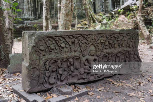 """beng mealea angkorian temples, near siem reap, cambodia - cambodia """"malcolm p chapman"""" or """"malcolm chapman"""" stock pictures, royalty-free photos & images"""