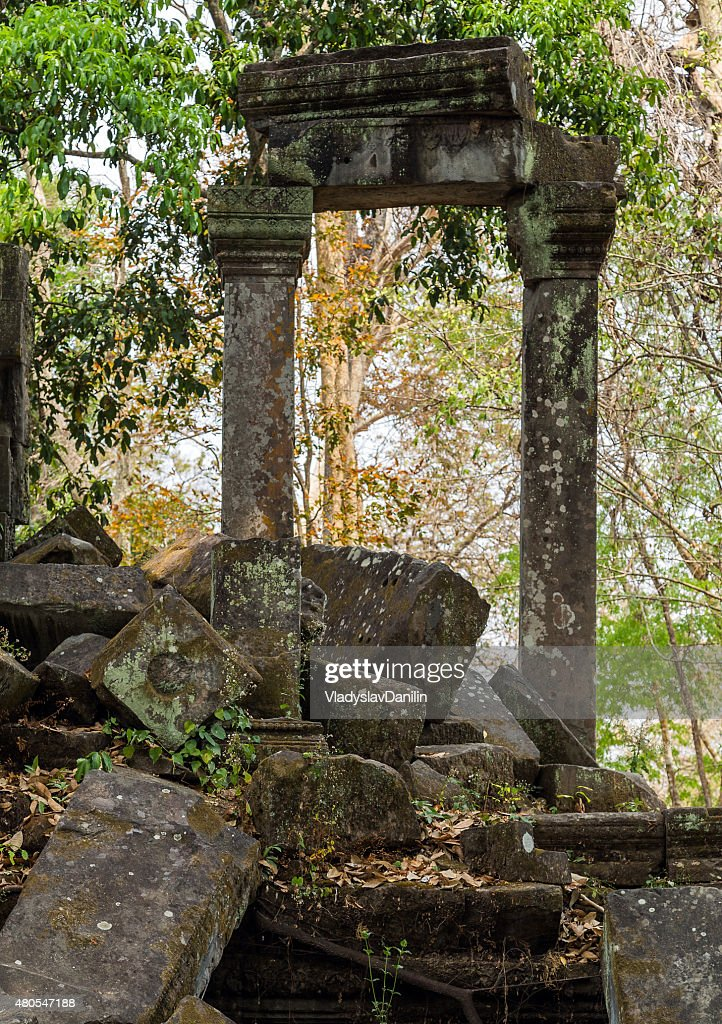 Beng Mealea Temple, Angkor, Camboya : Foto de stock