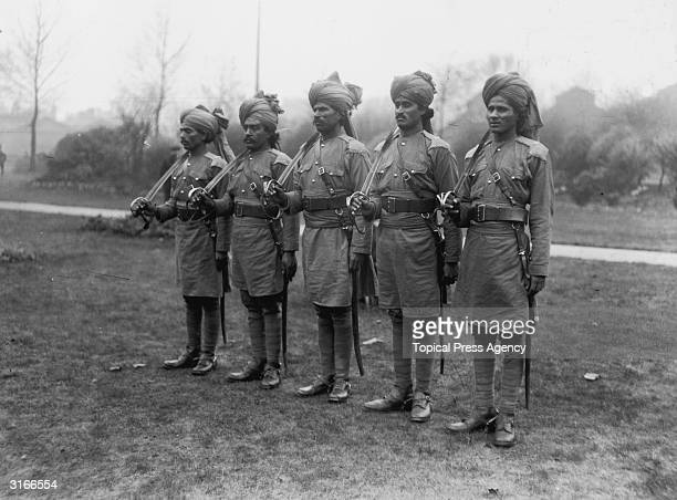 Bengal Lancers in London Magi Pathans of Jacobs horse