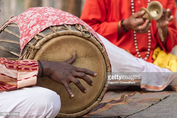 bengali folk music instruments - folk music stock pictures, royalty-free photos & images