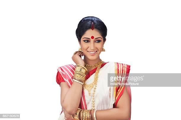 Bengali woman smiling
