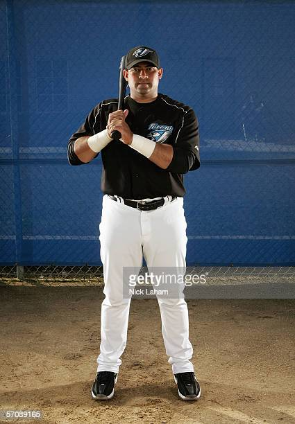 Bengie Molina of the Blue Jays poses for a portrait during the Toronto Blue Jays Photo Day at the Bobby Mattick Training Center on February 25 2006...