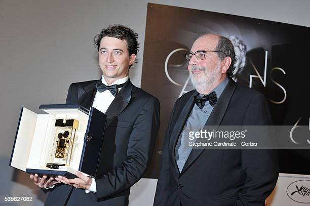 Benh Zeitlin winner of Camera d'Or for Beasts Of The Southern Wild poses at the Winners Photocall during the 65th Cannes International Film Festival