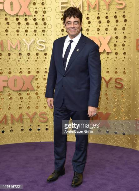Benicio del Toro attends the 71st Emmy Awards at Microsoft Theater on September 22 2019 in Los Angeles California