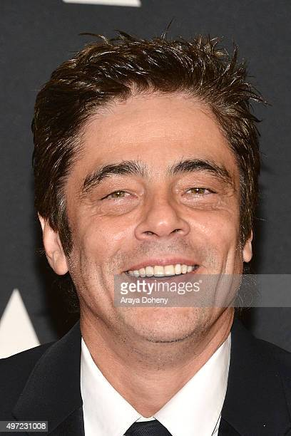Benicio del Toro attends the Academy of Motion Picture Arts and Sciences' 7th Annual Governors Awards at The Ray Dolby Ballroom at Hollywood Highland...