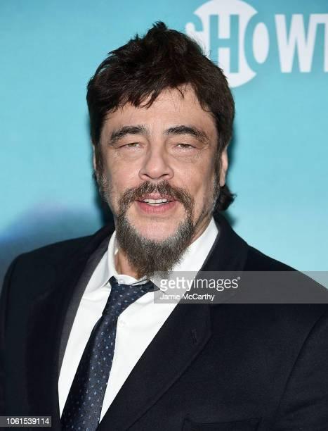 Benicio Del Toro attends the Escape At Dannemora New York Series Premiere at Alice Tully Hall Lincoln Center on November 14 2018 in New York City