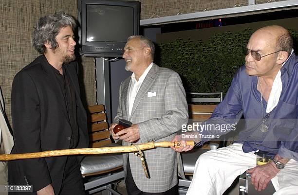 Benicio Del Toro Dennis Hopper and Hunter S Thompson