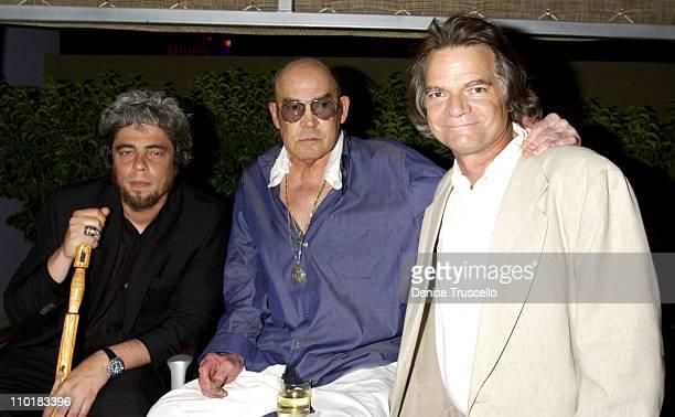 Benicio Del Toro Hunter S Thompson and Wayne Ewing