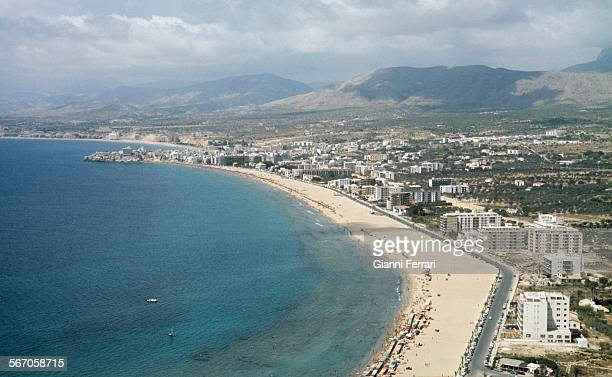 Benidorm 1964 when it was a small town that began to receive tourism First August 1964 Benidorm Alicante Spain