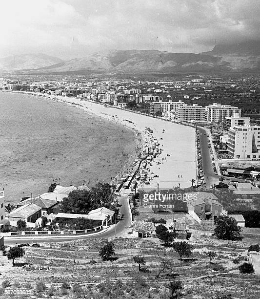Benidorm 1964 when it was a small town that began to receive tourism Benidorm Alicante Spain