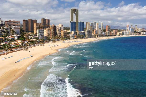 benidorm (spain) - alicante stock pictures, royalty-free photos & images