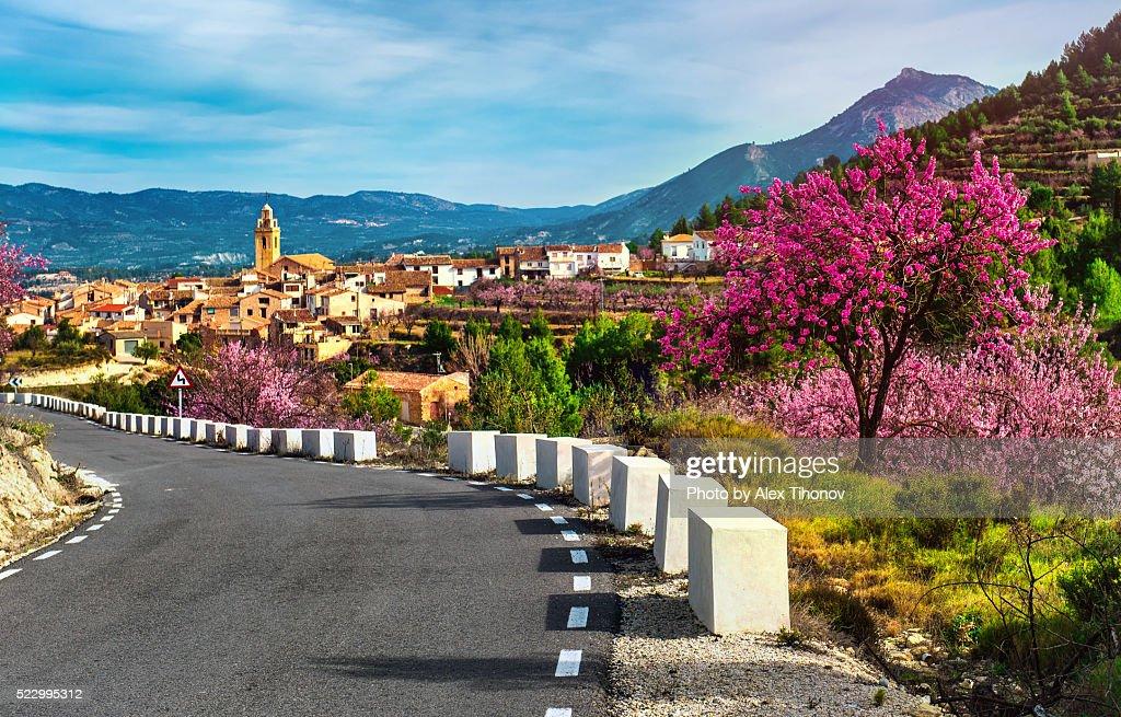 Benifallim village in alicante spain stock photo getty - Stock uno alicante ...