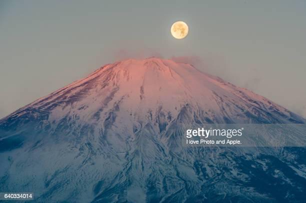 Beni-Fuji and Moon