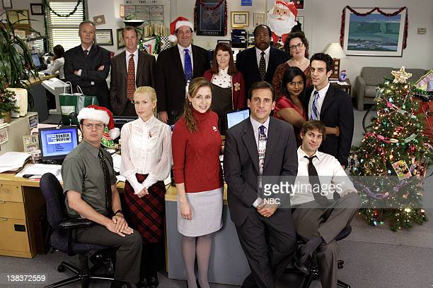 THE OFFICE A Benihana Christmas Episode 9 Aired 12/14/06 Pictured Back Row Creed Bratton as Creed Paul Liberstein as Toby Brian Baumgartner as Kevin...