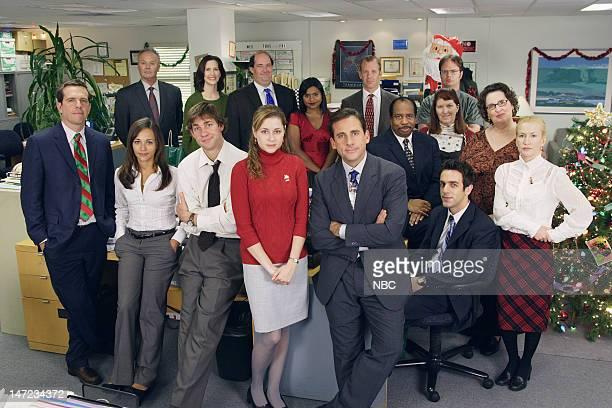 THE OFFICE A Benihana Christmas Episode 9 Aired Pictured Ed Helms as Andy Bernard Rashida Jones as Karen Filippelli John Krasinski as Jim Halpert...