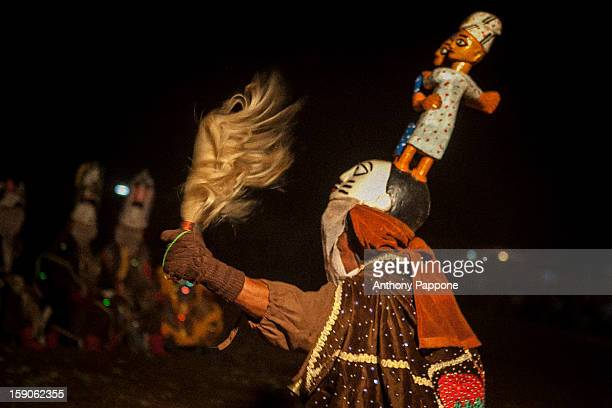 CONTENT] Benin voodoo gelede masks during the Festival of dance masks in Dédougou Sahel northern Burkina Fasowest africa