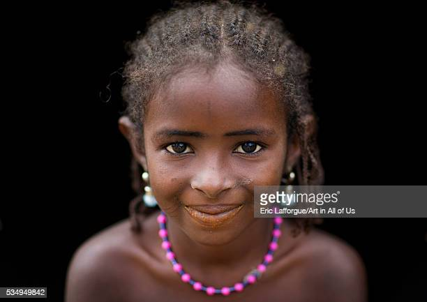 Benin West Africa Gossoue cute fulani peul tribe girl