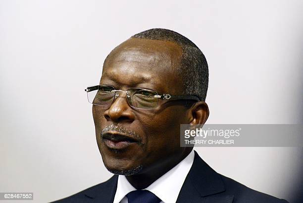 Benin's President Patrice Talon attends a meeting a the European Union Council building in Brussels on December 8 2016 / AFP / THIERRY CHARLIER