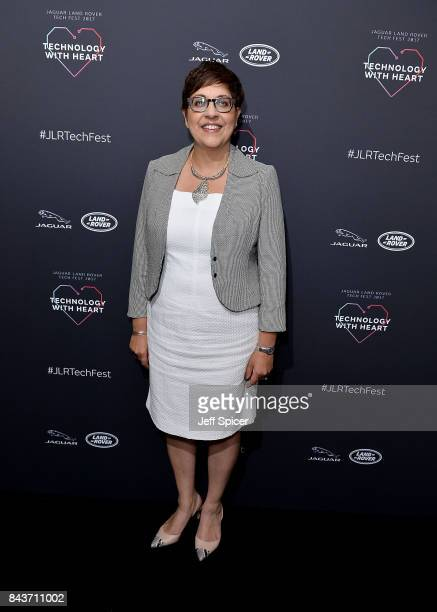 Benita Mehra attends the Technology with Heart Jaguar Land Rover's Tech Fest at Central St Martins on September 7 2017 in London England