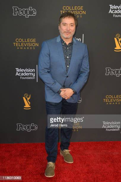 Benito Martinez attends The Television Academy Foundation's 39th College Television Awards at Wolf Theatre on March 16 2019 in North Hollywood...
