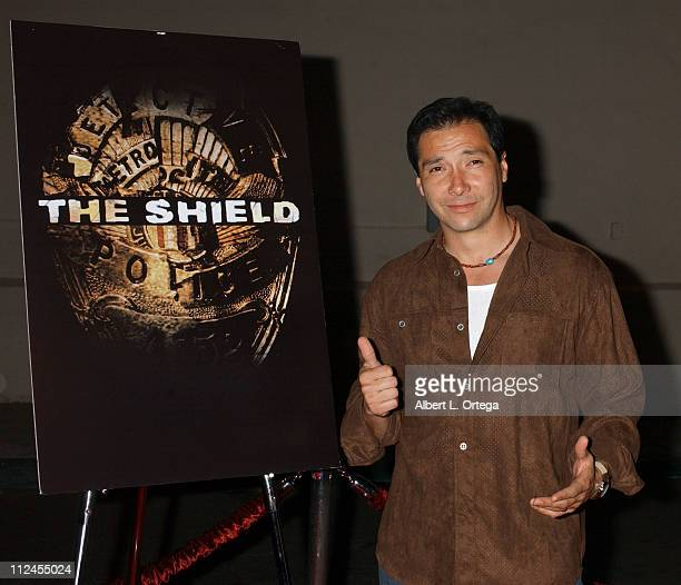 """Benito Martinez during """"The Shield"""": Season Three Premiere Screening at The Zanuck Theater in West Los Angeles, California, United States."""