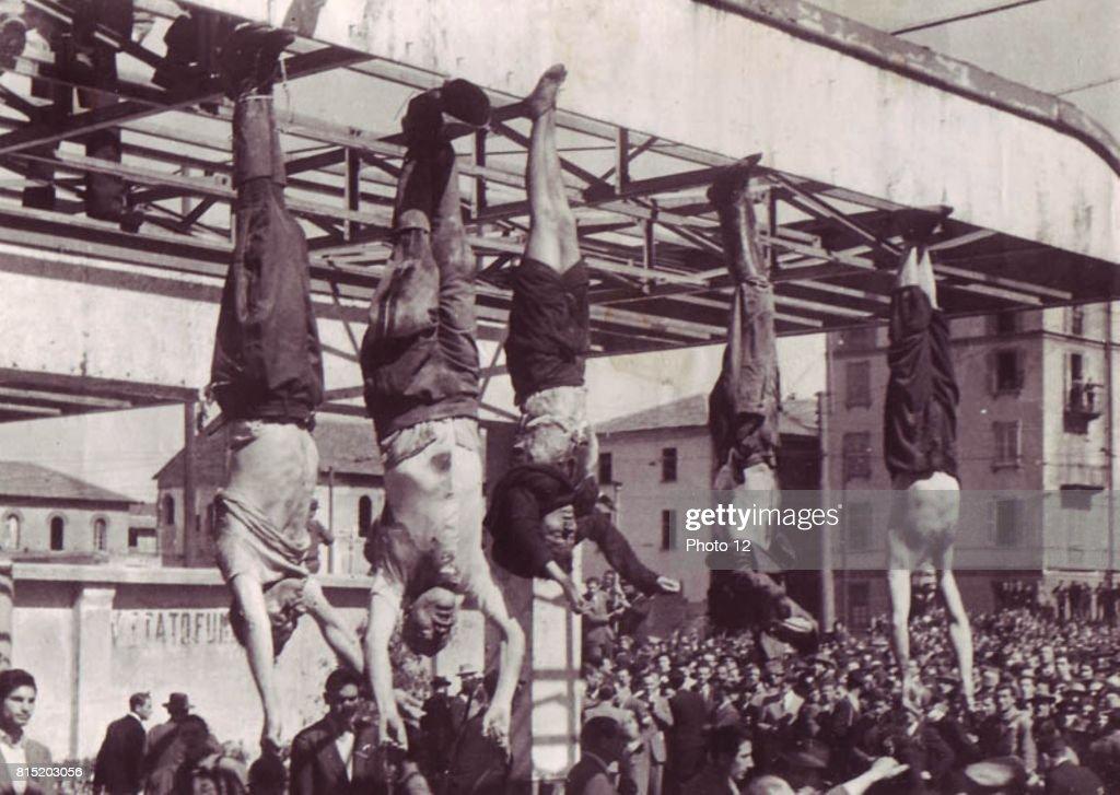 Benito Mussolini. : News Photo