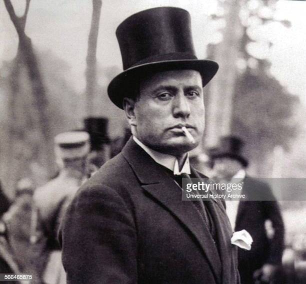 Benito Mussolini Italian politician journalist and leader of the National Fascist Party