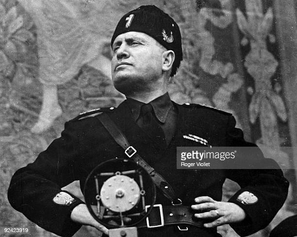 Benito Mussolini Italian statesman