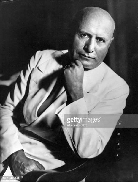 Benito Mussolini Politiker Italien 19251943/45 Diktator Italiens undatiert