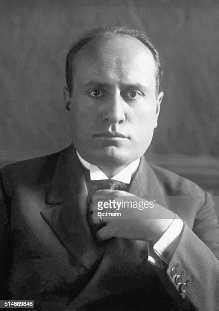 Benito Mussolini Prime Minister Undated photograph