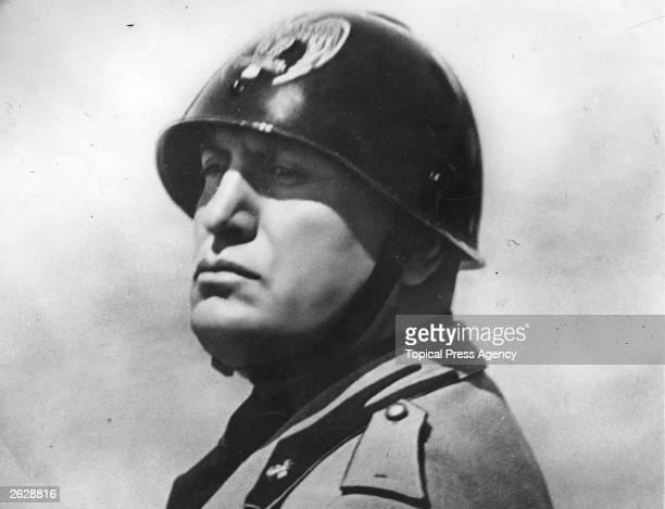 Benito Mussolini the Italian dictator in 1934