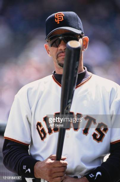 Benito Santiago Catcher for the San Francisco Giants during the Major League Baseball National League West game against the New York Mets on 12th May...