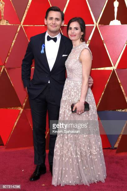 BEnj Pasek and guest attend the 90th Annual Academy Awards at Hollywood Highland Center on March 4 2018 in Hollywood California