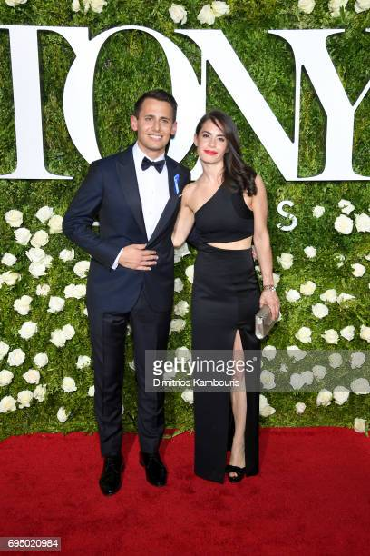Benj Pasek attends the 2017 Tony Awards at Radio City Music Hall on June 11 2017 in New York City