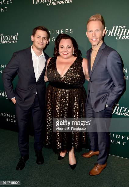Benj Pasek Keala Settle and Justin Paul attend The Hollywood Reporter 6th Annual Nominees Night at CUT on February 5 2018 in Beverly Hills California