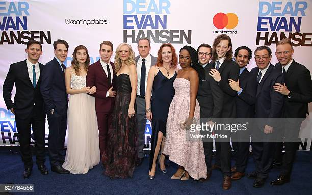 Benj Pasek Steven Levenson Laura Dreyfuss Ben Platt Rachel Bay Jones Michael Park Jennifer Laura Thompson Kristolyn Lloyd Will Roland Mike Faist Alex...