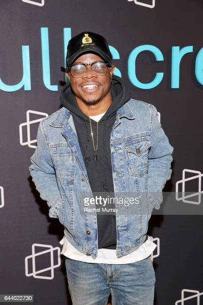 Benjamin Abiola attends the FullScreen Clubhouse Party on February 22 2017 in Los Angeles California
