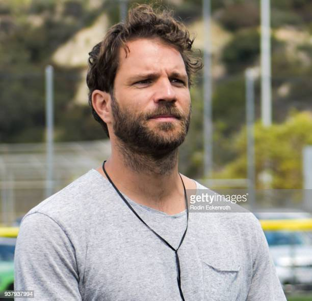 Benjamin Adrion at Viva Con Agua's 1st annual Waterweek LA celebrity soccer match at Glendale Sports Complex on March 25 2018 in Glendale California