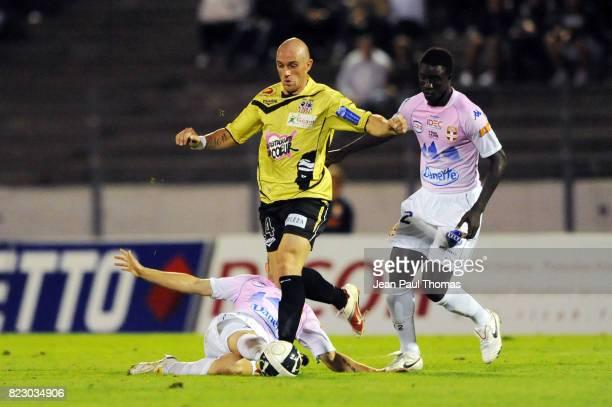 Benjamin ANDRE Evian Thonon Gaillard / Ajaccio 6eme journee de Ligue 2 Parc des Sports d Annecy