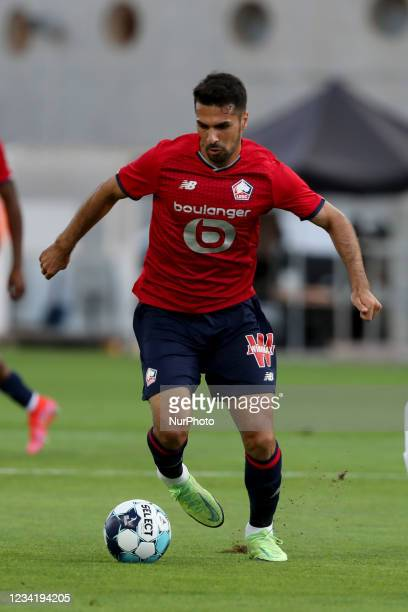 Benjamin Andre of Lille OSC in action during the pre-season friendly football match between FC Porto and Lille OSC at the Algarve stadium in Loule,...